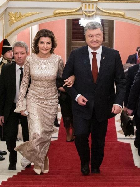 Супруги Порошенко