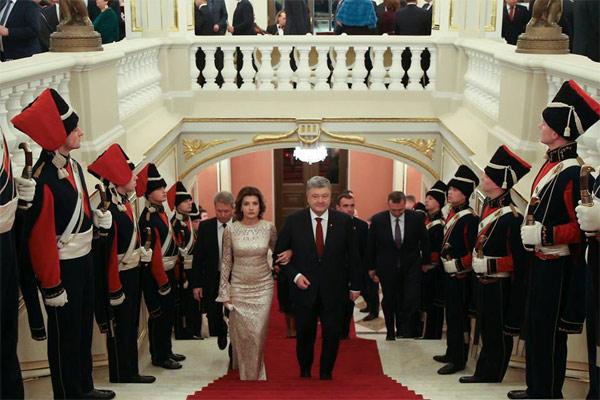 Марина Порошенко и Петр Порошенко
