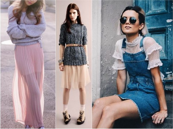 Одежда в бельевом стиле - модный тренд осени-зимы 2016-2017