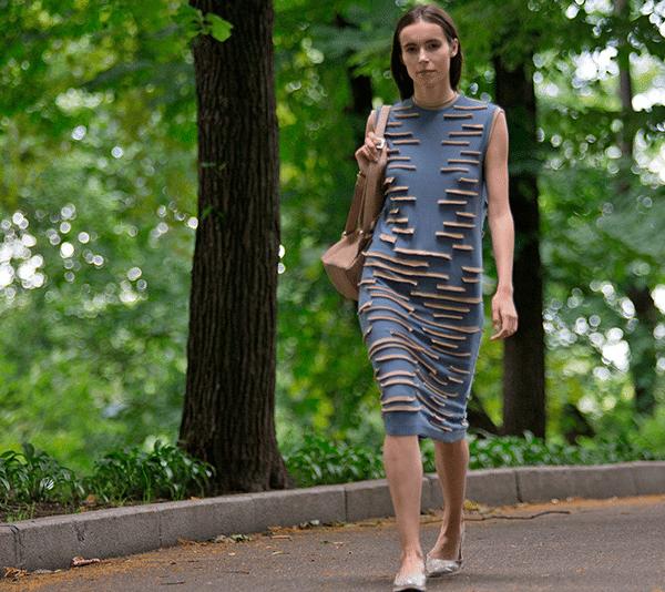 Модное платье украинского бренда РИТО для лета в городе 2016
