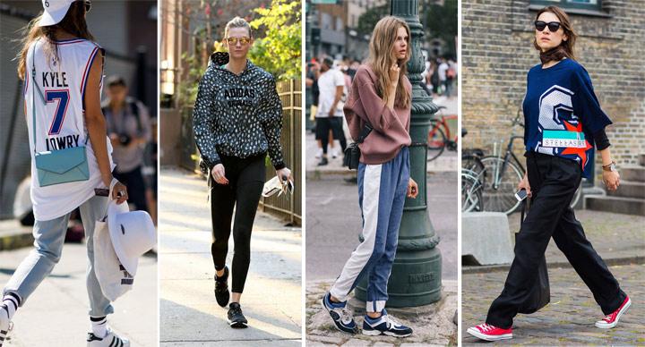 Без спортивной одежды современный базовый гардероб не полон