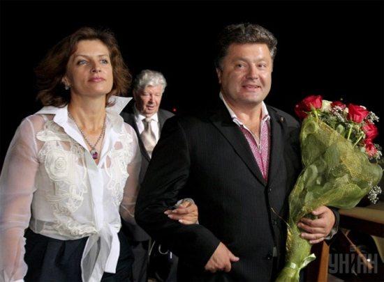 Марина и Петр Порошенко в молодости
