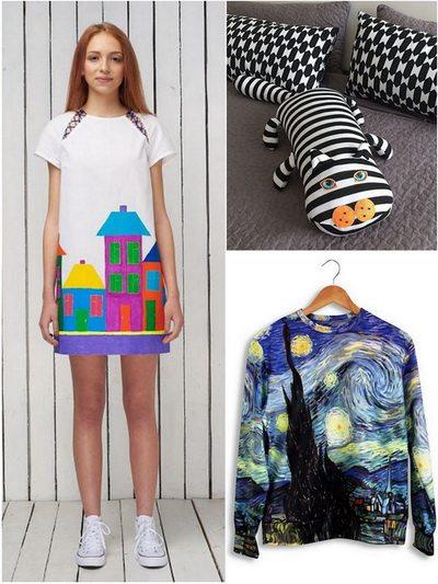 Вещи от украинских дизайнеров в магазине Ua made store
