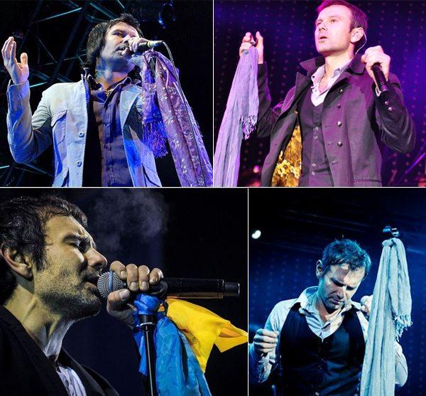 Вакарчук и его шарфы-палантины