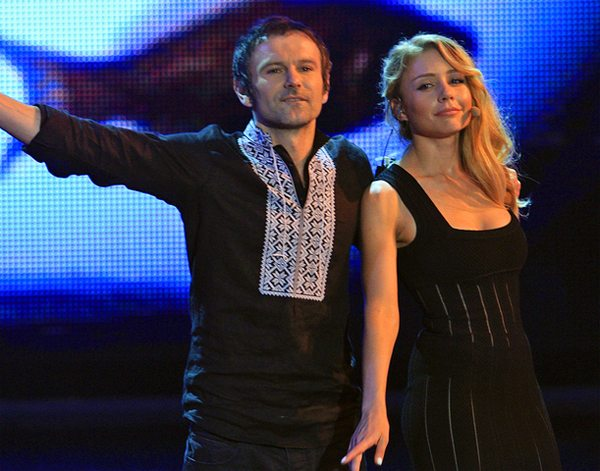 Вакарчук и Тина Кароль