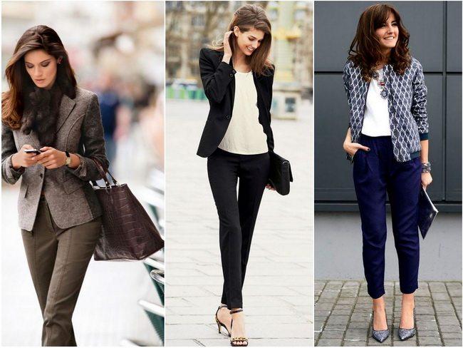 Даже джинсы можно превратить в классику для школьной линейки