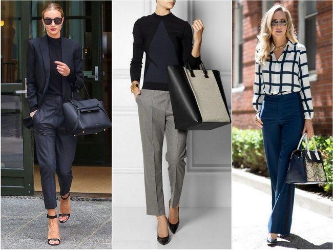 Что надеть маме или учительнице на 1 сентября: классические брюки с блузой или джемпером