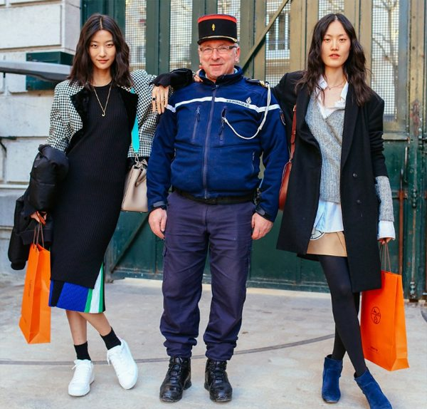 Модницы на улицах Парижа