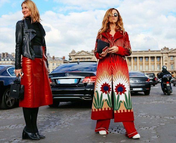 Модные образы 2016, заснятые на Неделе моды в Париже