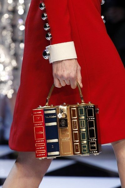Необычная сумка Dolche & Gabbana осень-зима 2016-2017