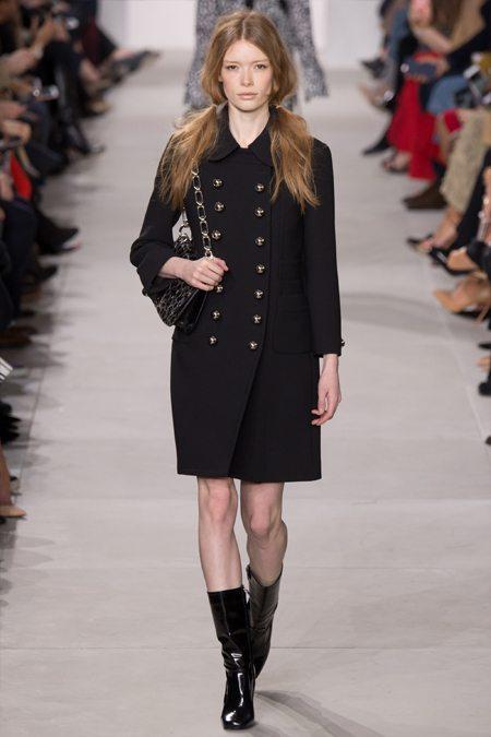 Модное пальто Michael Kors Collection осень-зима 2016-2017