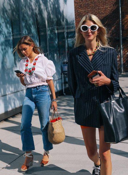 Журналистки Vogue задают модный тон