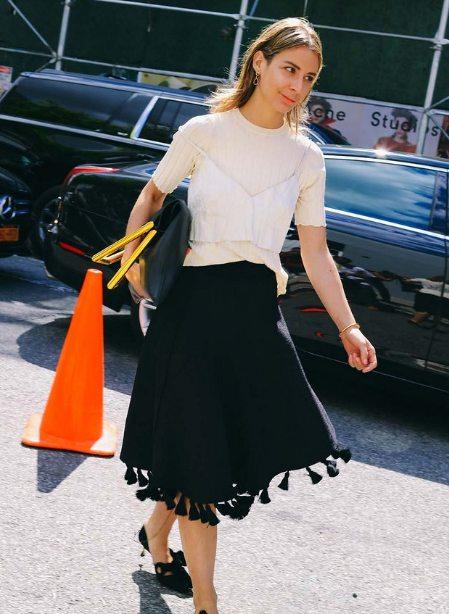 Еще юбка с бахромой