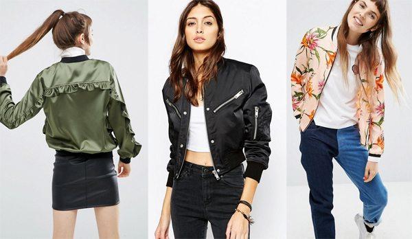 Стильные образы на основе курток-бомберов
