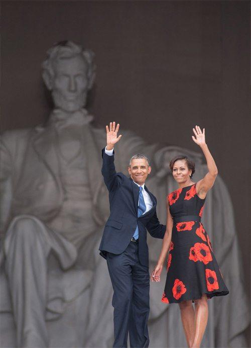 Супруги Обама