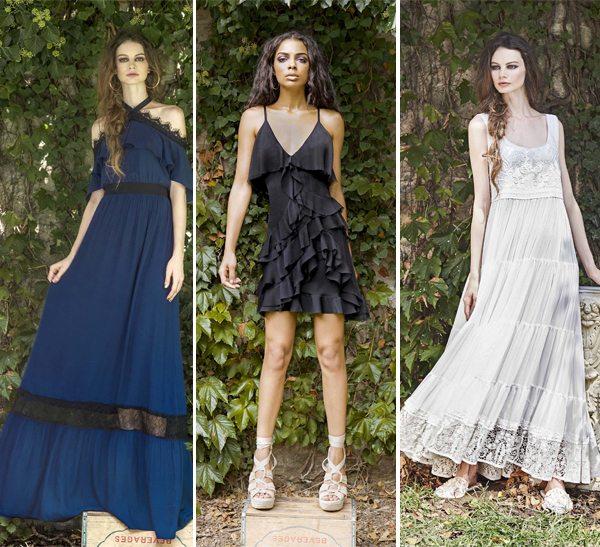 Модные платья с оборками для весны и лета 2017 Alice + Olivia