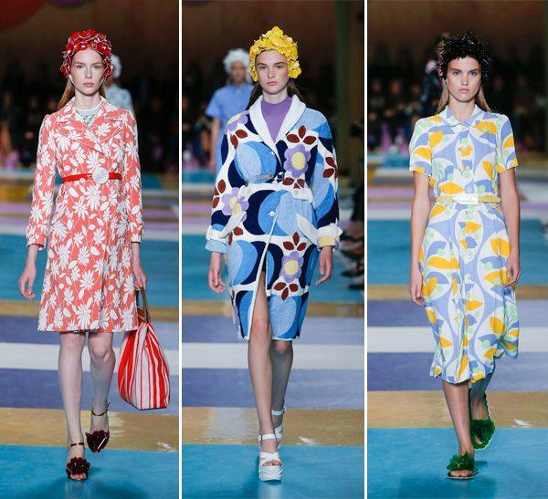 Цветочные принты в весенне-летней коллекции Miu Miu