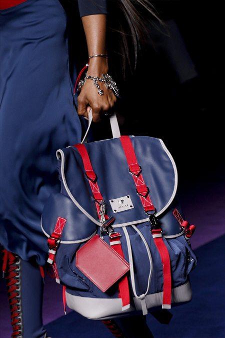 Модный рюкзак от Versace для весны и лета 2017