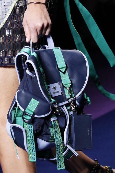 Wow-рюкзак из коллекции Versace весна-лето 2017