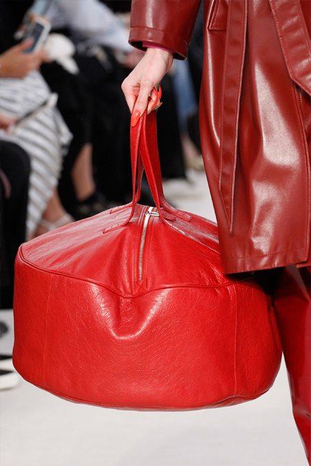 Модная сумка тоут Balenciaga весна-лето 2017