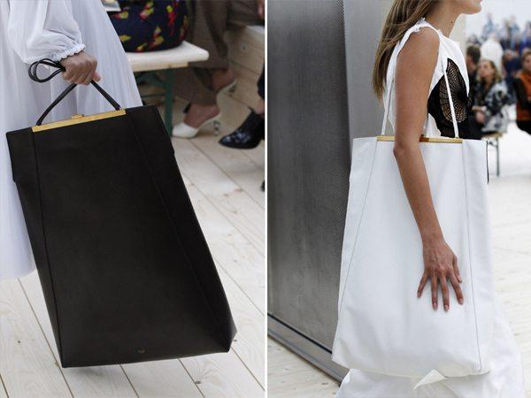 Модные сумки типа шопер от Celine весна-лето 2017