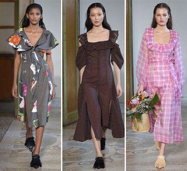 Модные look'и Blumarine весна-лето 2017