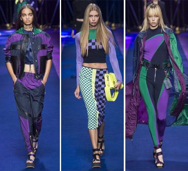 Модная спортивная одежда Versace весна-лето 2017