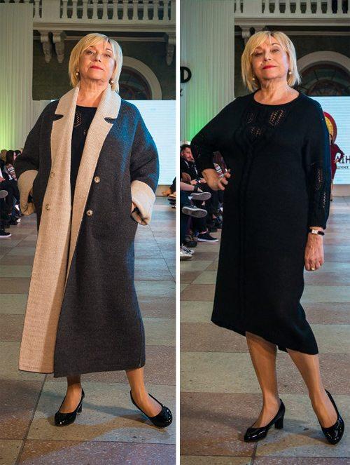 Профессор кафедры РГФ ОНУ и модель Лидия Николаевна Голубенко