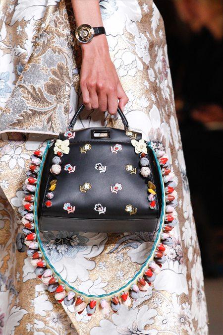 Модная сумка Fendi весна-лето 2017