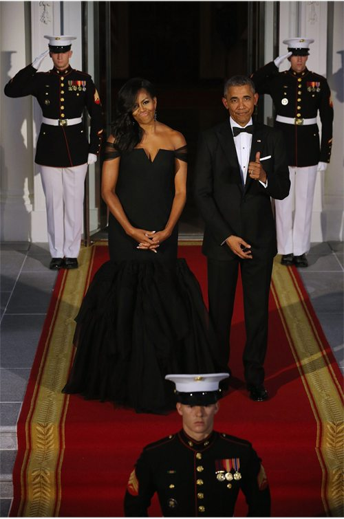 Мишель и Барак Обама 24 года вместе