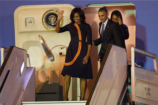 Семья Мишель и Барака Обамы