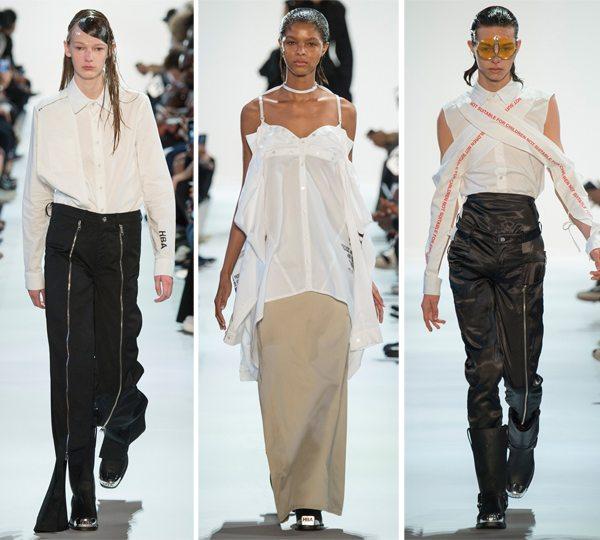 Белые блузки с рюшами