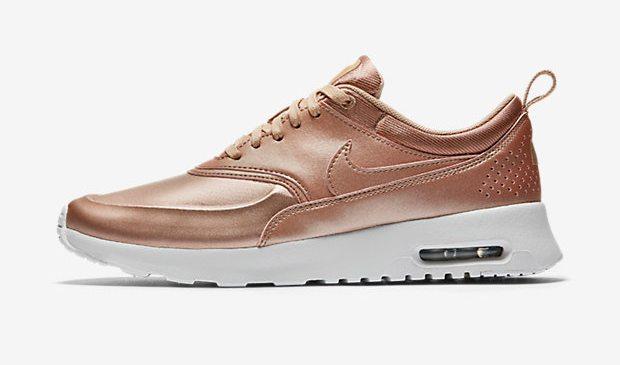 Кожаные кроссовки Nike Air Max