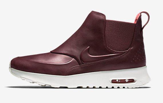 Женская зимняя спортивная обувь Nike Air Max Thea Mid