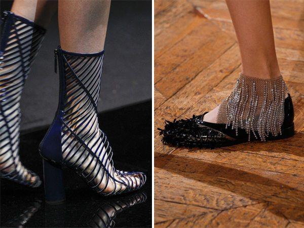 Стильная обувь Georgio Armani и Lanvin весна-лето 2017