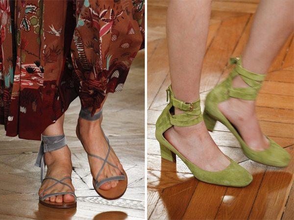 Модные сандалии и туфли от Valentino 2017