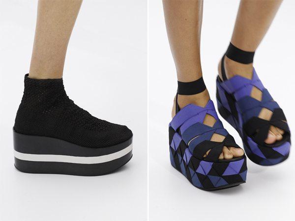 Стильная обувь на платформе от Salvatore Ferragamo