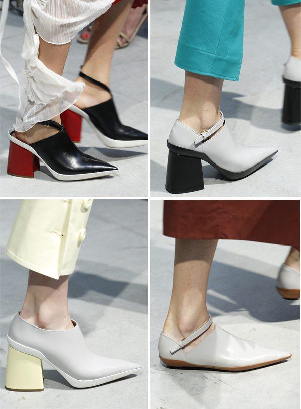 Модная женская обувь весна-лето 2017