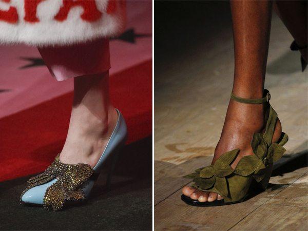 Модные туфли и босоножки от Gucci и Dries von Noten весна-лето 2017