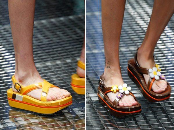 Обувь для лета 2017 от Prada