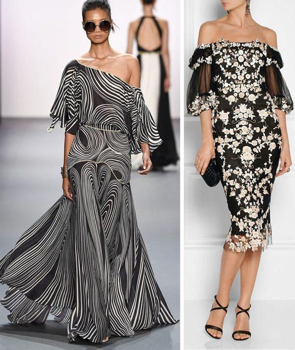 Модные платья 2017 от Marchesa и Jenny Packham SS 2017