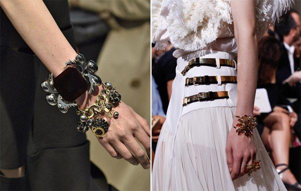 Стильные браслеты из модных коллекций Lanvin и Marni весна-лето 2017