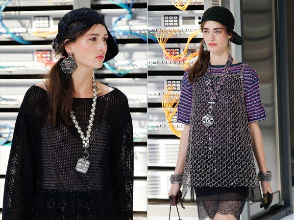 Модные украшения весна-лето 2017 от Chanel