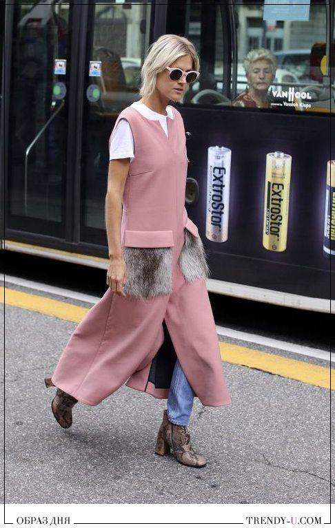 Уличная модница. Стильный образ