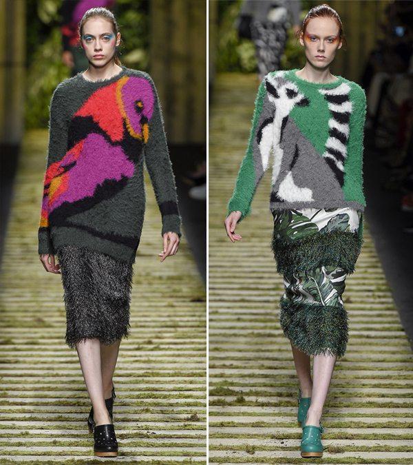 Модные свитеры и юбки Макс Мара весна-лето 2017
