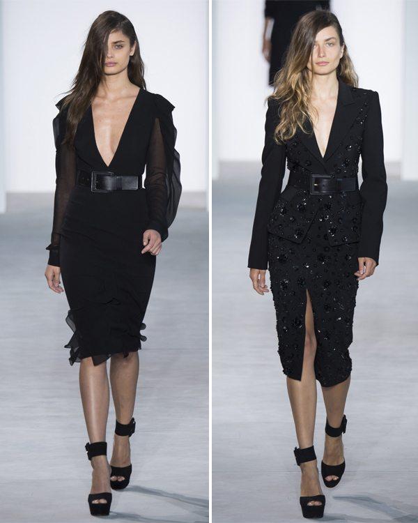 Черное платье и женский костюм Michael Kors 2017