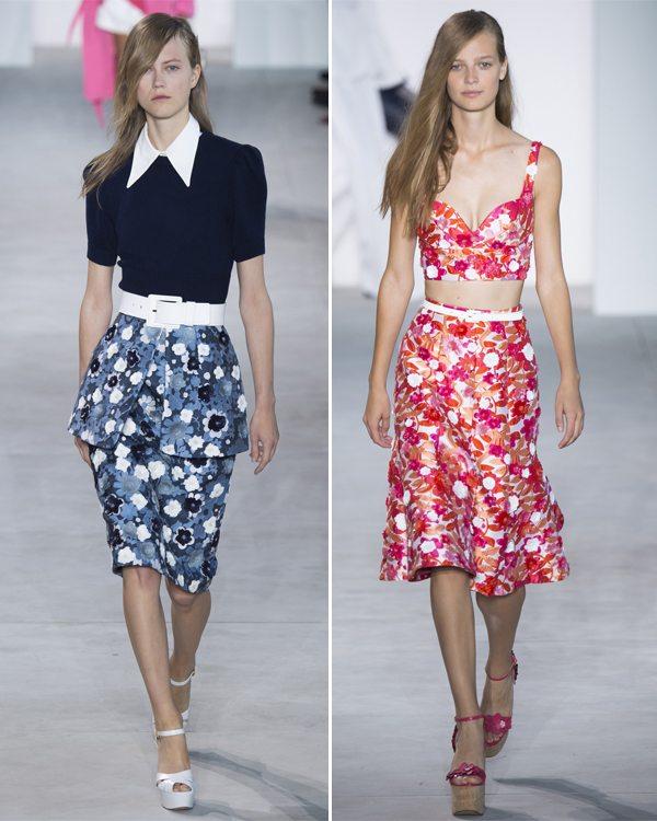 Модные юбки от Майкла Корса весна-лето 2017