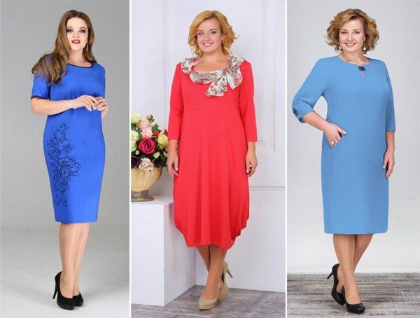 Нарядные платья для женщин среднего возраста