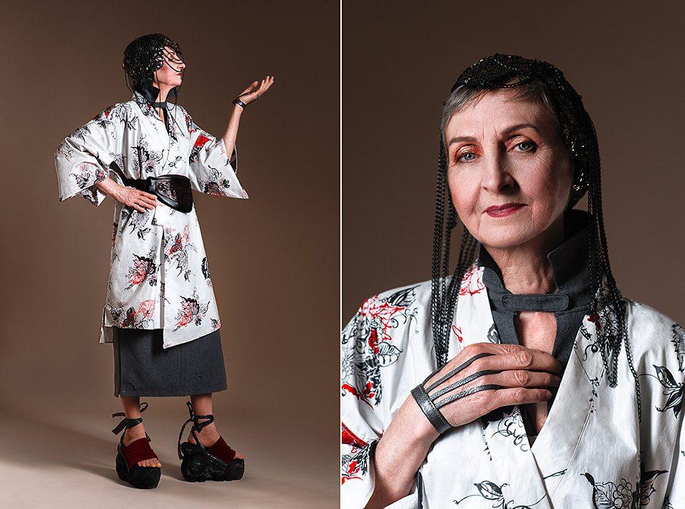 Фотопроект Юлии Мальновской Fashion Babushka