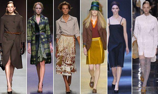 Коллекции Prada осень-зима и весна-лето 2003, 2004, 2005 и 2006 г.г.